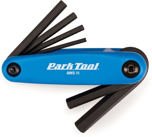 Park Tool AWS-11 Folding Allen Key Set